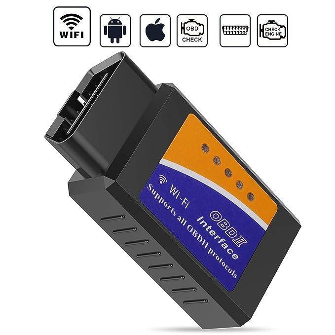 110 opinioni per GeekerChip OBD2 WiFi, OBD2,Auto Strumenti Diagnostici,Forte