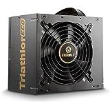 Enermax Triathlor ECO - Fuente de alimentación (650 W, ATX, 8 x conectores SATA), negro