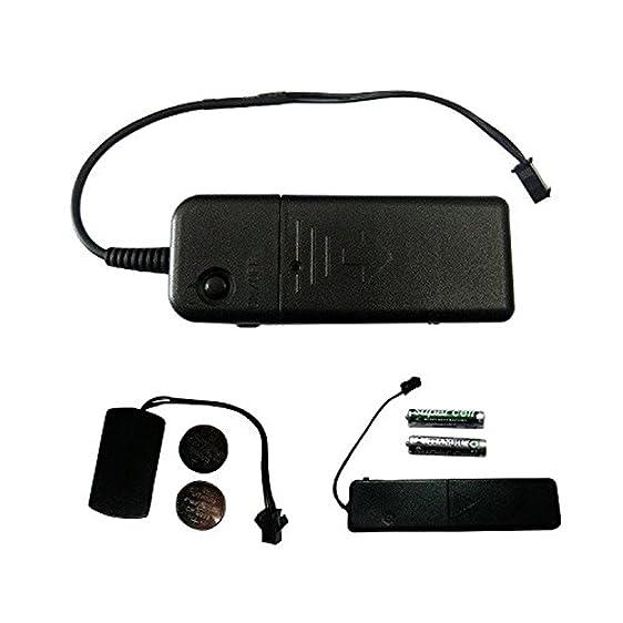 Amazon.com: EL Wire Battery Packs & Inverters – Tiny, Mini, Sound ...