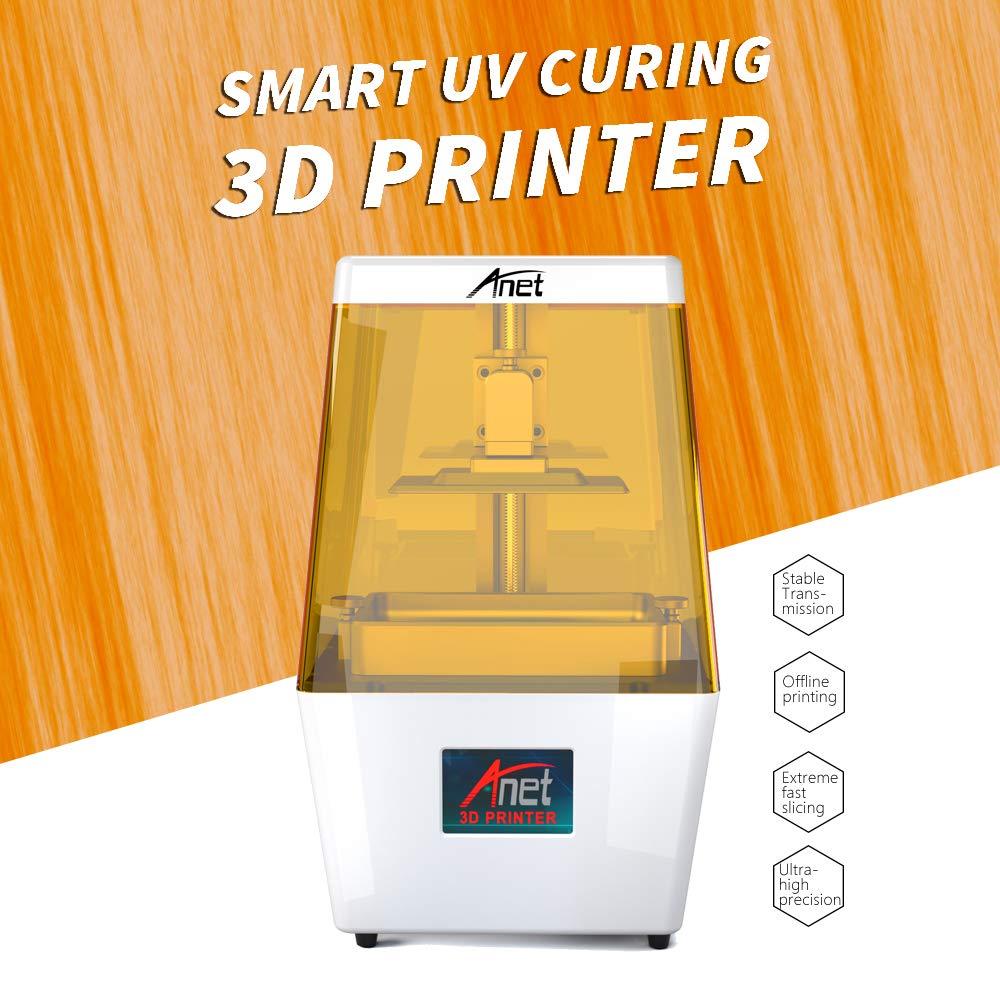 aibecy Anet N4 máquina de Impresora 3D de Cristal líquido UV UV ...