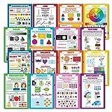 Elements of Art & Principles of Design 16 Poster Set (PAPER, 13 x 19)
