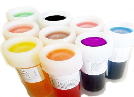 Food Colouring liquid Set of 9 x 20g Icing Colour Cakecolour ...