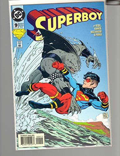 superboy and king shark - 1