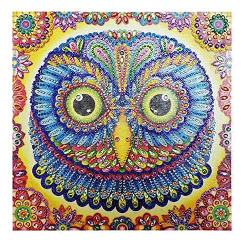 (5D Diamond Painting Kits for Adults and Kids - Adorable Cat Design - Relax and Paint with Diamonds - Art Tool Kit Includes All Accessories11.8x11.8inch)