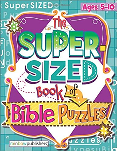 The Super-Sized Book of Bible Puzzles