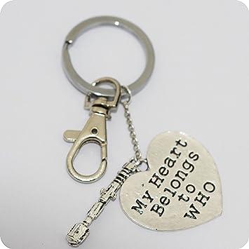 Mi Corazón Pertenece a que mano con sello llavero con destornillador ...
