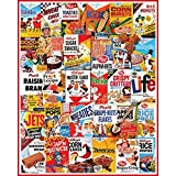 White Mountain Puzzles Cereal Boxes Jigsaw Puzzle (1000 Pieces)