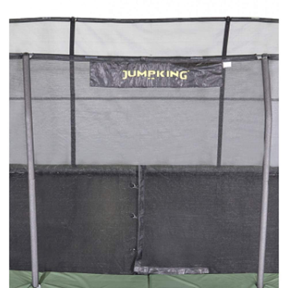 JumpKing 7' x 10' Enclosure Net for 8 Poles for 7'' Springs with JK Logo by JumpKing