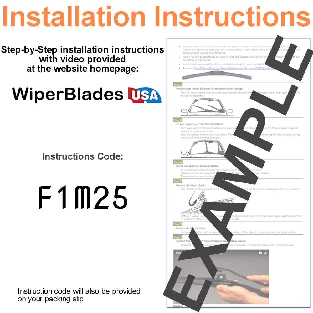Amazon.com: Wiper Blades for 2017 Nissan Sentra Driver & Passenger ...