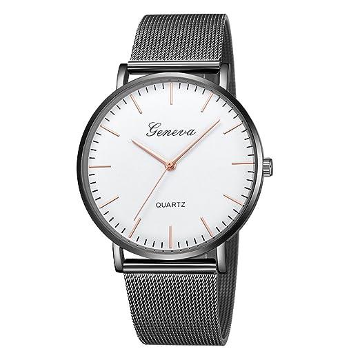 Reloj Inteligente Mujer Deporte, Harpily Ginebra Moda Reloj Simple Reloj Pulsera de Cuarzo de Cuero
