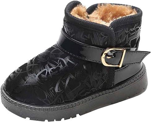 Kids Warm Shoes Autumn Winter Warm Children Girls Boys Casual Snow Boots