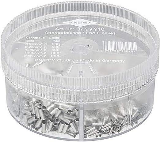 Knipex 97 99 910 Assortment Box With Insulated Ferrules Baumarkt