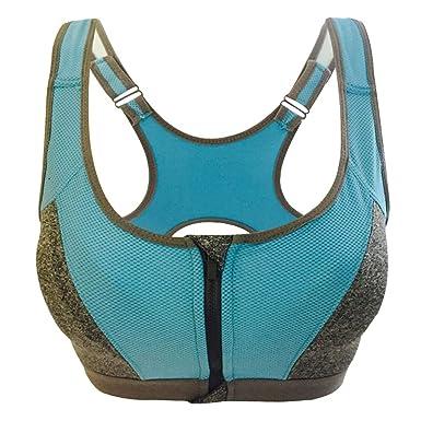 771ca5b0d Cebbay Femme Soutien-Gorge de Sport Yoga sous Vetement sans Coutures ...