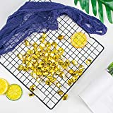 DomeStar Fake Ice, 150PCS 2.5Cups Gold Acrylic Ice