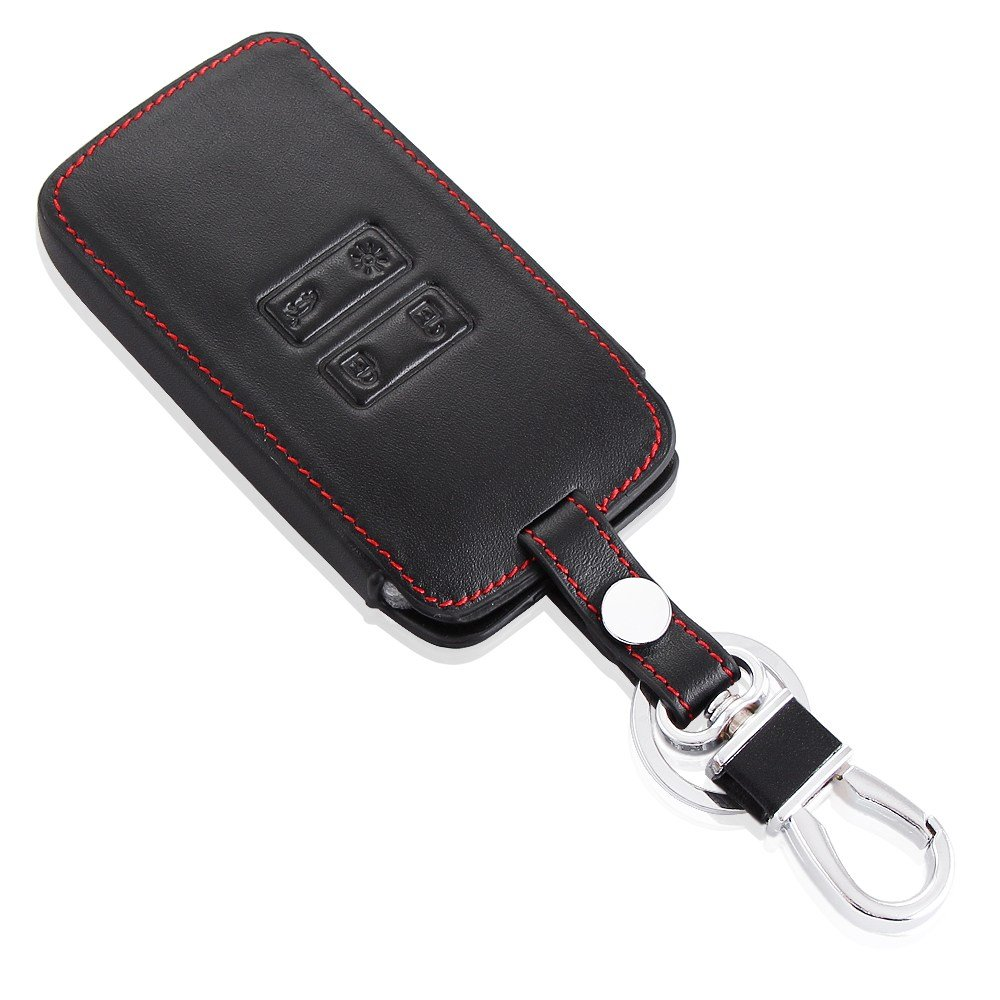 Autumn Water Car Leather Remote Key Case Cover Keychain Key Protective Shell for Renault Kadjar