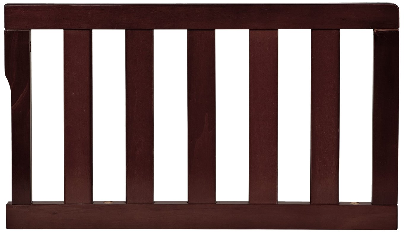 Dream On Me Universal Convertible Crib Toddler Guard Rail, New Espresso 692-NE