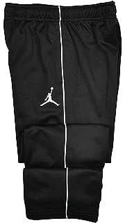 Nike Jordan Big Boys Therma-fit Jumpman Athletic Track Pants (Medium, Black/