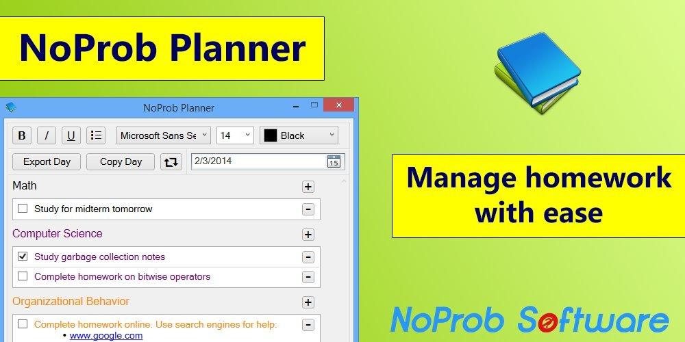 NoProb Planner [Download] by NoProb Software