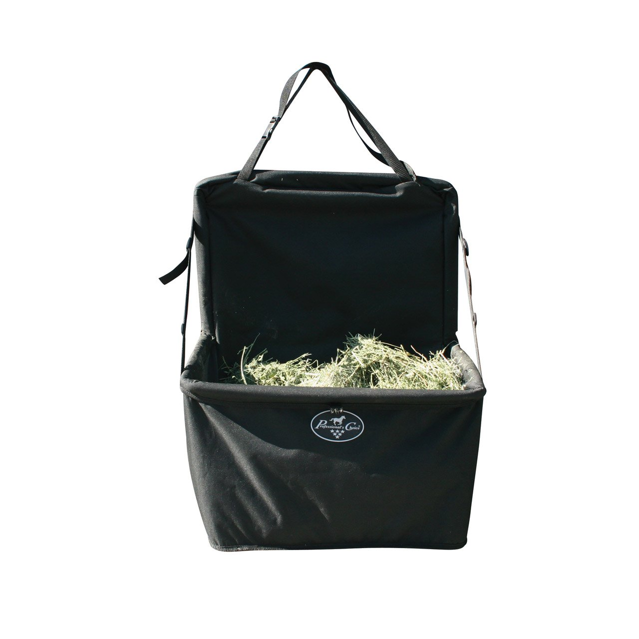 Professional's Choice 14X24X14 Equine Folding Combo Feeder Bag (Black)