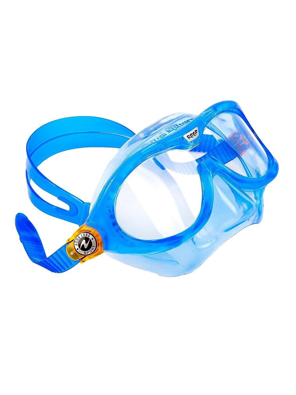 f76c40279e92b Aqua Sphere Sphera Reef Junior toddler swim & snorkel mask Dark blue:  Amazon.co.uk: Sports & Outdoors