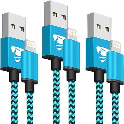 cable chargeur iphone devien bleu