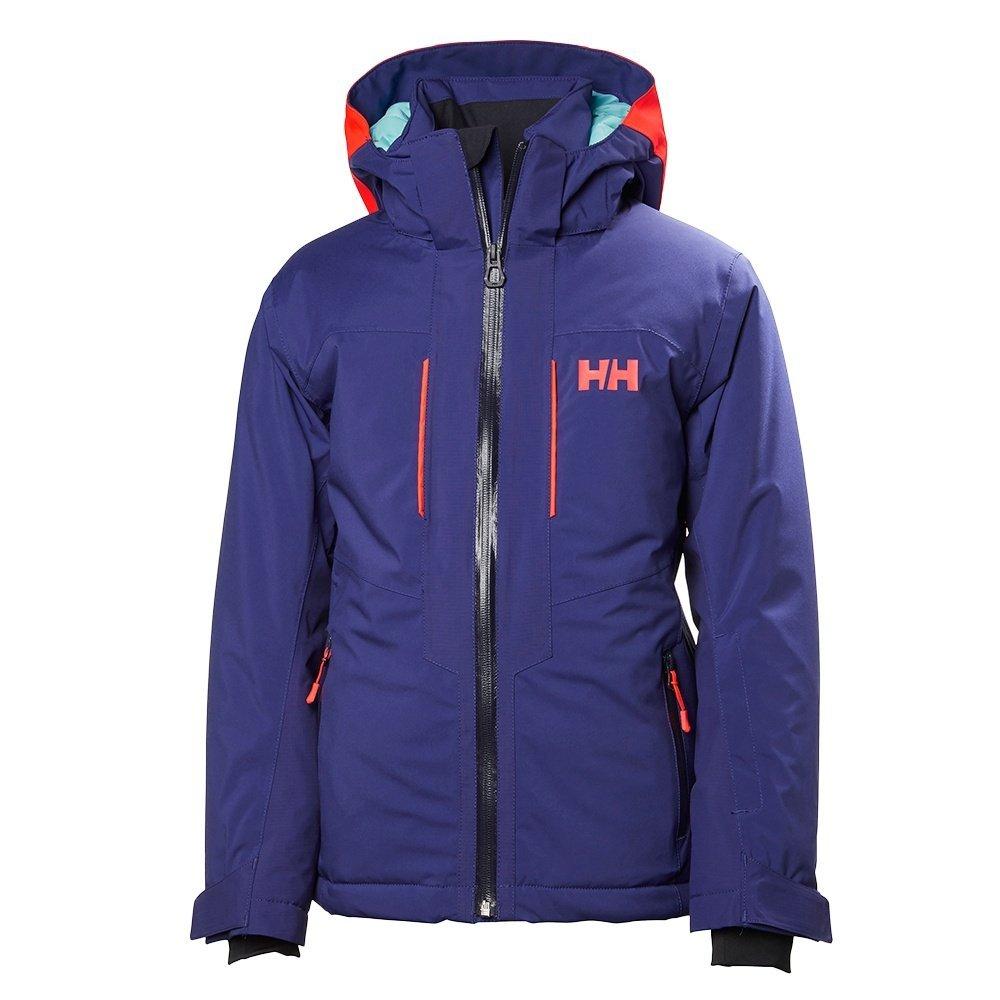 Amazon.com: Helly Hansen Junior Unisex Aura Jacket Graphite Blue - 8: Sports & Outdoors