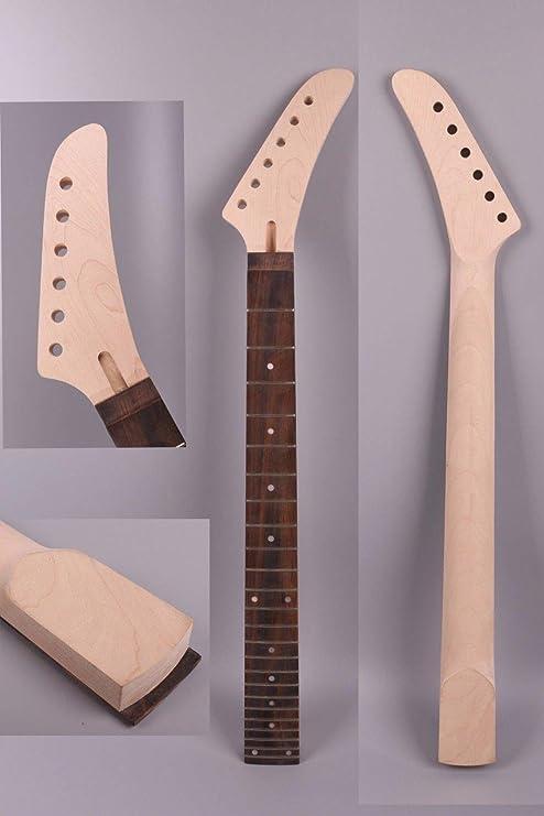 FidgetGear Cuello de guitarra Banana eléctrico de repuesto 24 ...