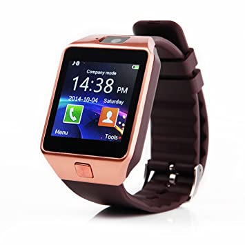 Reloj inteligente Global Technology DZ09, 3,96 cm: Amazon.es: Electrónica