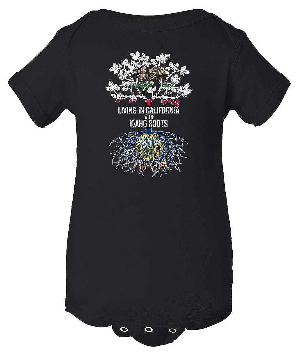 Tenacitee Babys Living in California with Idaho Roots Shirt