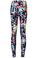 Smile YKK Women Casual Sport Skinny Pattern Print Stretchy Pants Leggings