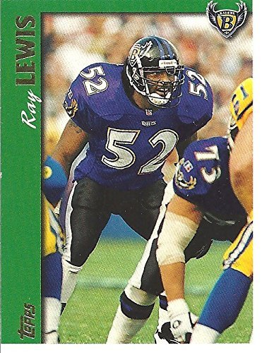 (1997 TOPPS FOOTBALL - RAY LEWIS FOOTBALL CARD #239 - FREE SHIPPING)