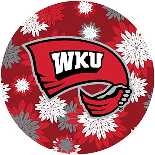 Kentucky Pattern - R and R Imports, Inc Western Kentucky University Hilltoppers NCAA Collegiate Trendy Floral Flower Fashion Pattern 4