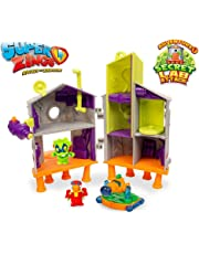 SuperZings - Laboratorio Secreto Playset Adventure 1, color verde