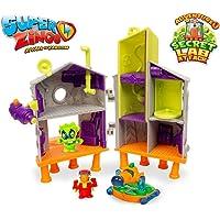 Superzings- Laboratorio Secreto Playset Adventure 1, Color Verde (Magic Box MBXPSZPA114IN00)