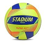 Bola Vôlei Super Soft Stadium 67 Cm Amarelo
