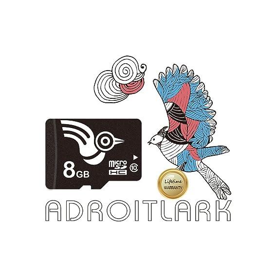 ADROITLARK Tarjeta Micro SD Tarjeta de Memoria Clase 10 de 8 GB Tarjeta de Memoria para teléfono (U1 8GB)