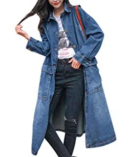 Women's Clothing Fast Deliver 2019 New Women Plus Size Overcoat Denim Coat Jacket Casual Hooded Long Swing Coat Pleated Bf Style Fashion Outwear Pockets Loose Selected Material Jackets & Coats