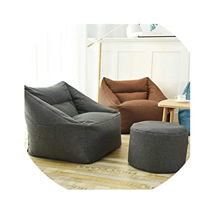 Amazon.com: ACOMY Lazy Sofa Indoor Seat Chair Cover ...