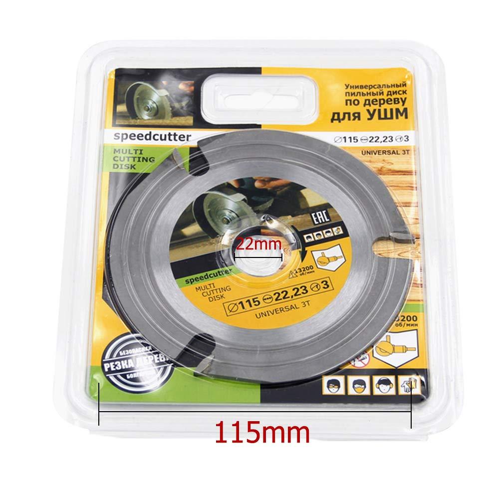 Tron/çonneuse circulaire /à 3 Teeth 125 mm Pointe en m/étal dur pour couper le bois