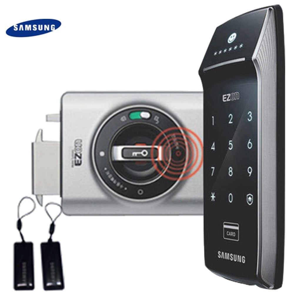 SAMSUNG SHS - 2320 Digitales Türschloss mit Touchpad von EZON thumbnail