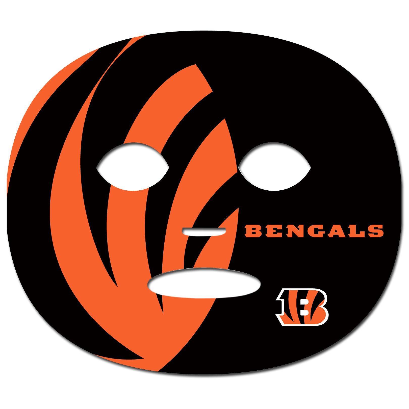 Siskiyou NFL Cincinnati Bengals Game Day Face Temporary Tattoo