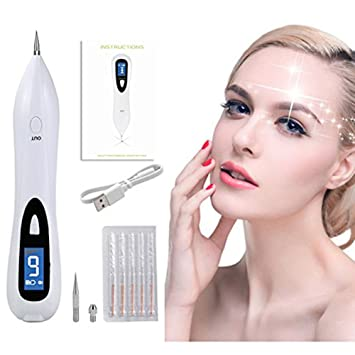Portable Laser Freckle Dot Mole Tattoo Removal Sweep Spot Pen Skin Care Tool Complementary Prescriptions, HerBalance Cream Pump 2 oz