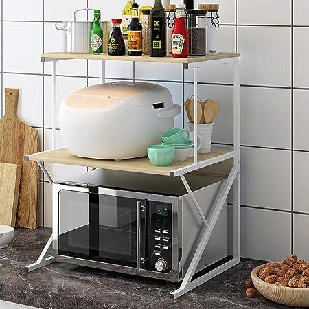 Estante para Horno de microondas Nivel 3 Microondas Horno Cocina ...