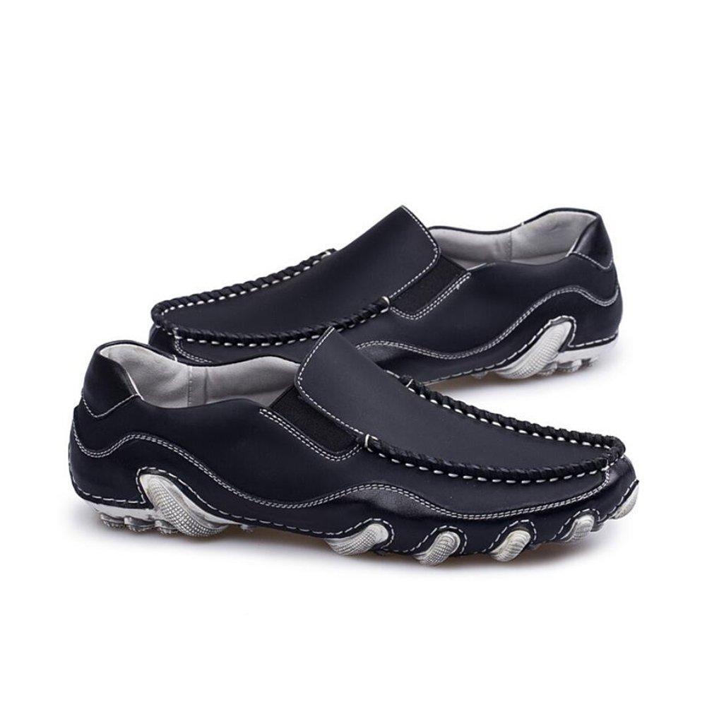 Herrenschuhe 2018 Frühling Herbst Winter Sommer Sommer Sommer Männer Casual Peas Schuhe Füße Herren Schuhe Mode Fahren Schuhe Loafers & Slip-Ons (Farbe   Schwarz, Größe   42) 95d6e6