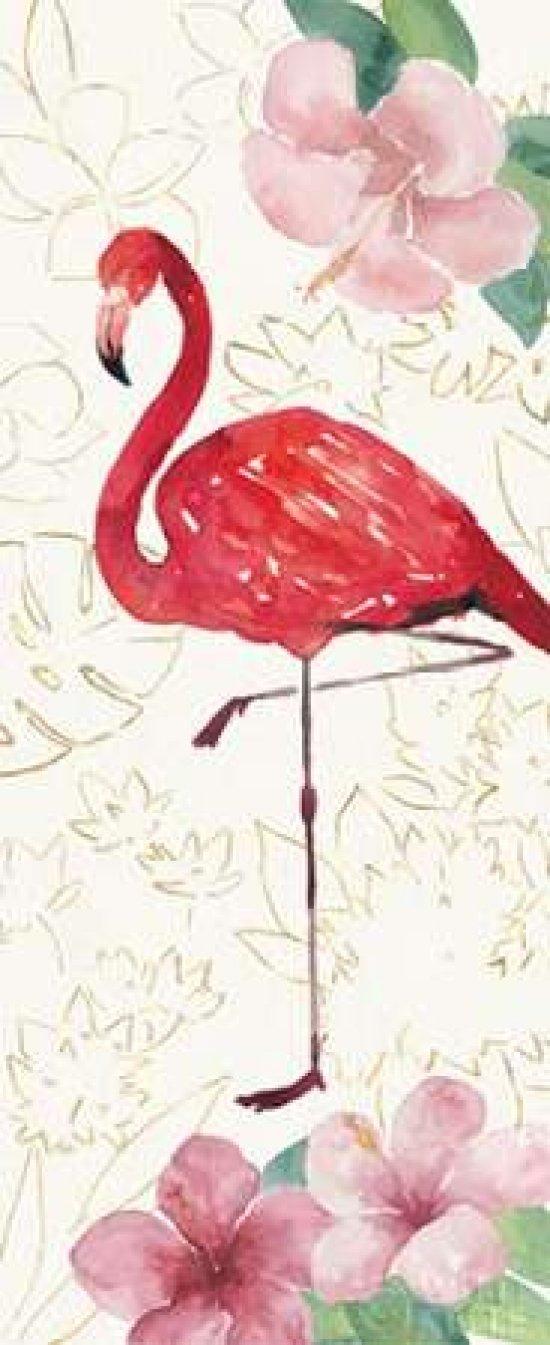 Tropical Fun Bird VII Poster Print by Harriet Sussman 24 x 48