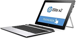 HP Elite X2 1012 G1 Detachable 2-in-1 Business Laptop, 12' FHD IPS Touchscreen (1920x1280), Intel Core M7-6Y75, 512GB SSD, 8GB RAM, Windows 10 Pro (Renewed)