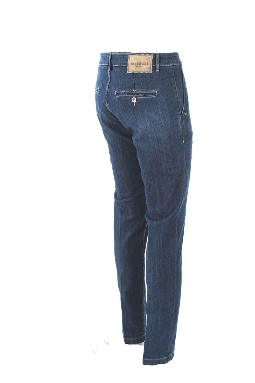 Men's Clothing Jeans Jeans Uomo Camouflage Denim Chinos Rey 17 D00 Primavera Estate 2019