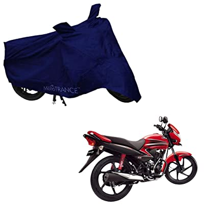Mototrance Blue Bike Body Cover Compatible With Honda Dream Yuga Amazon In Car Motorbike