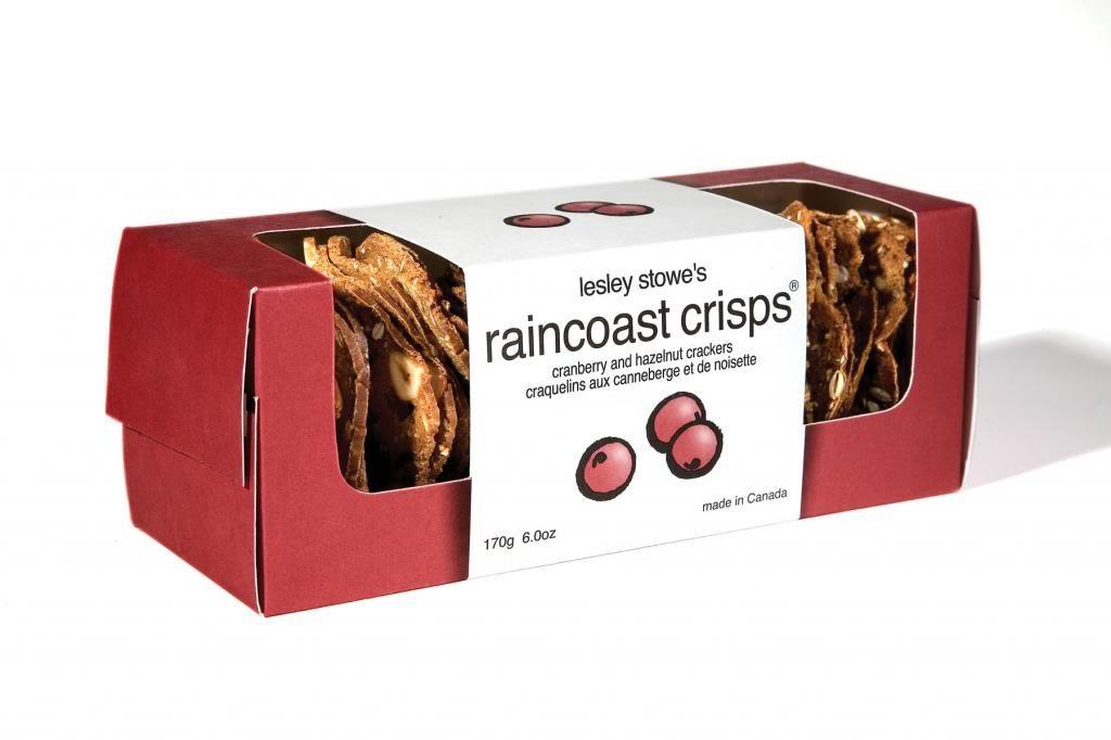 Raincoast Crisps Crisps Cranberry Hazelnut