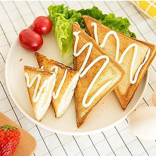 Amazon.com: Sandwich Máquina de Desayuno, Automático Doble ...